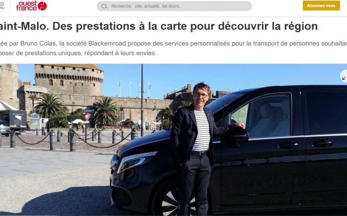 Blackemroad Saint Malo VTC Taxi Chauffeur privé